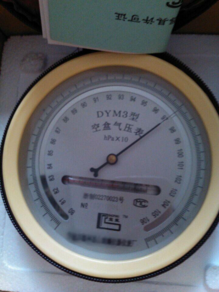DYM3大气压力表-