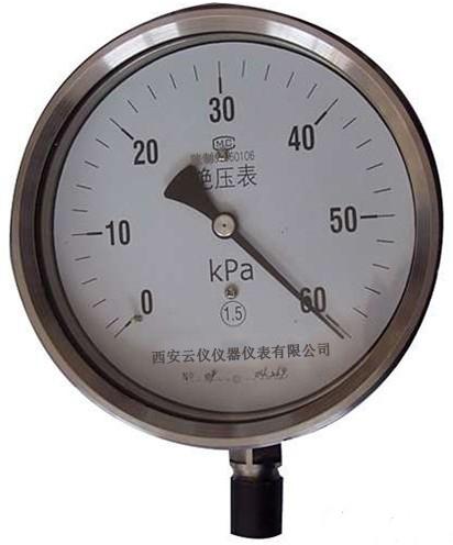 M-50绝压压力表-