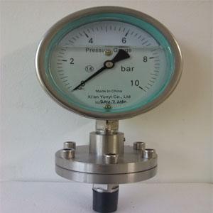 膜片压力表-西安仪表