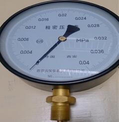 微压精密压力表