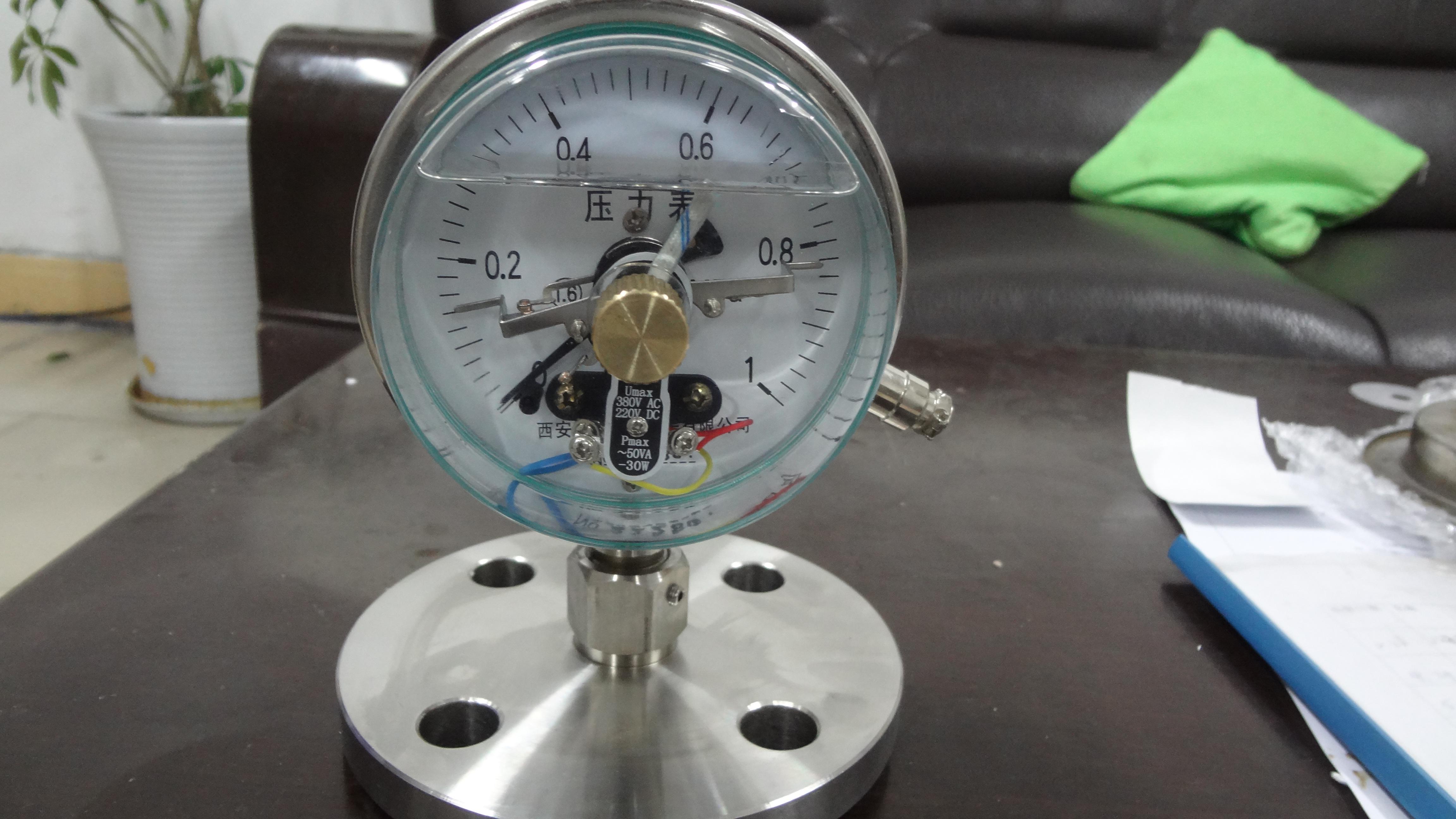 电接点隔膜压力表-西